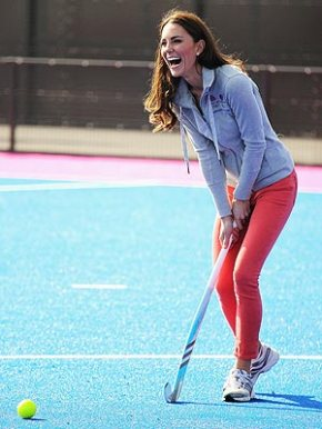 Kate Middleton is Bringing Field Hockey Back!