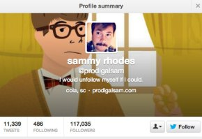 What's the Big Deal About @ProdigalSam?