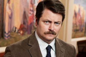 Ron Swanson Made Me Cry